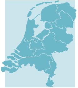 Lactatiekundigen Kaart Nederland